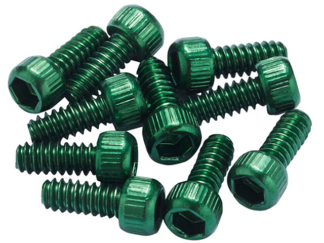 Reverse US Pedal Pin Set for Escape Pro/Black One Alu, verde